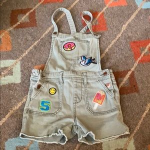 Cat n Jack size small overalls